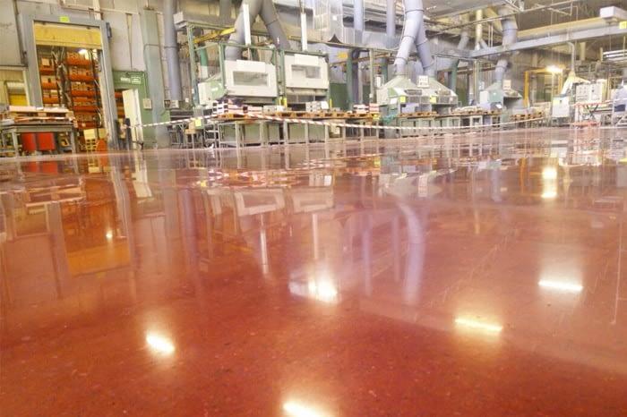 Pulido de suelos industriales 2