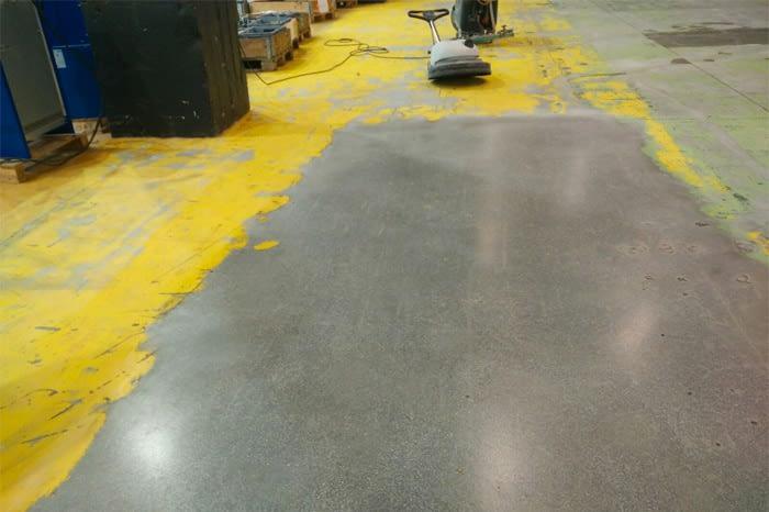 Pulido de suelos industriales 3