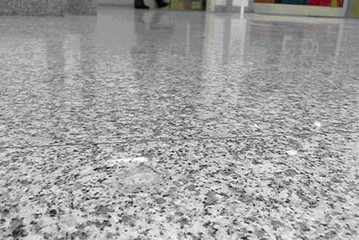 Pulido de granito